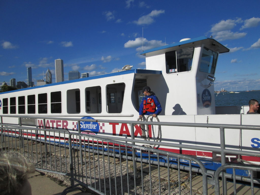 Chicago Weekend On a Budget:Water Taxi