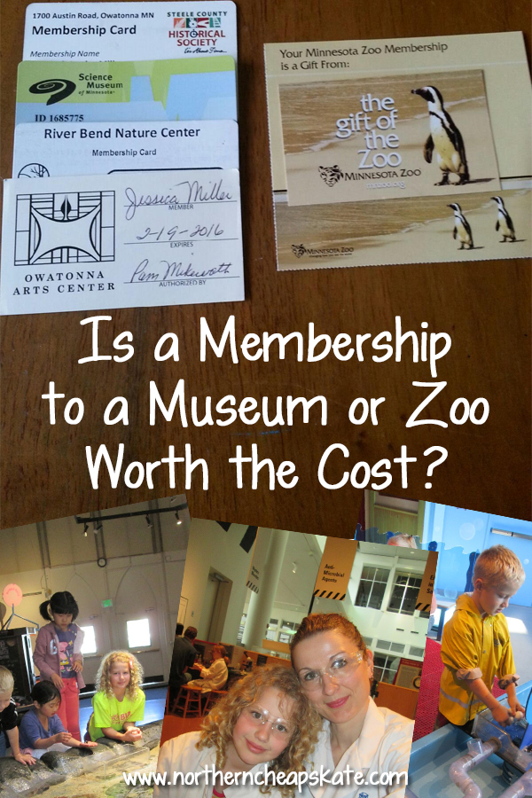 Is a Membership to a Museum or Zoo Worth the Cost