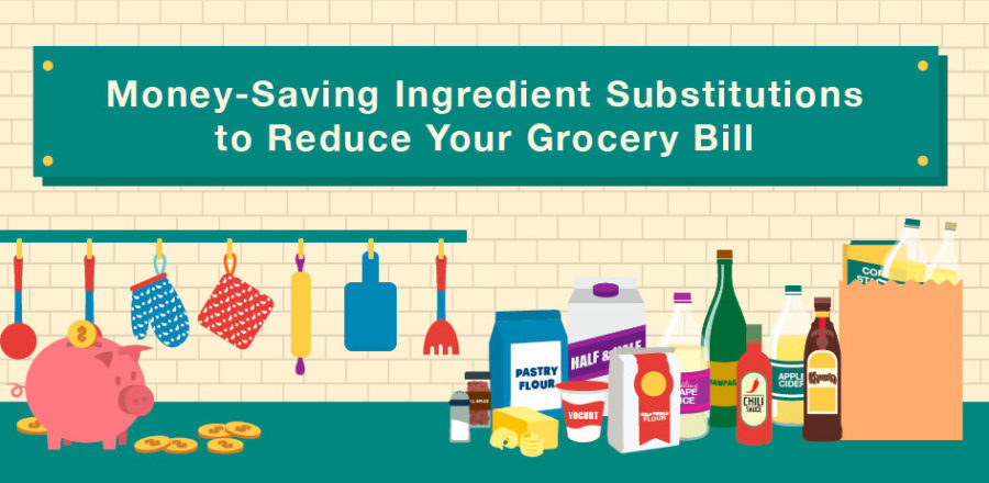 Save Money On Your Grocery Bill With Ingredient Substitutions