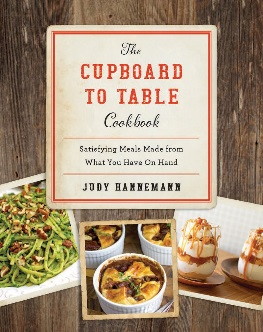 Review: The Cupboard To Table Cookbook