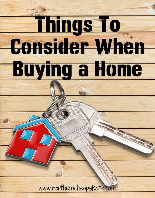 Things to consider when buying a home for Things to do to buy a house