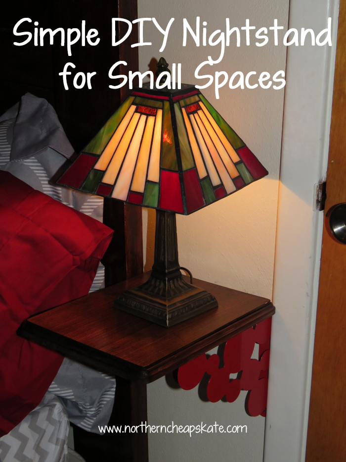 Simple DIY Nightstand for Small Spaces