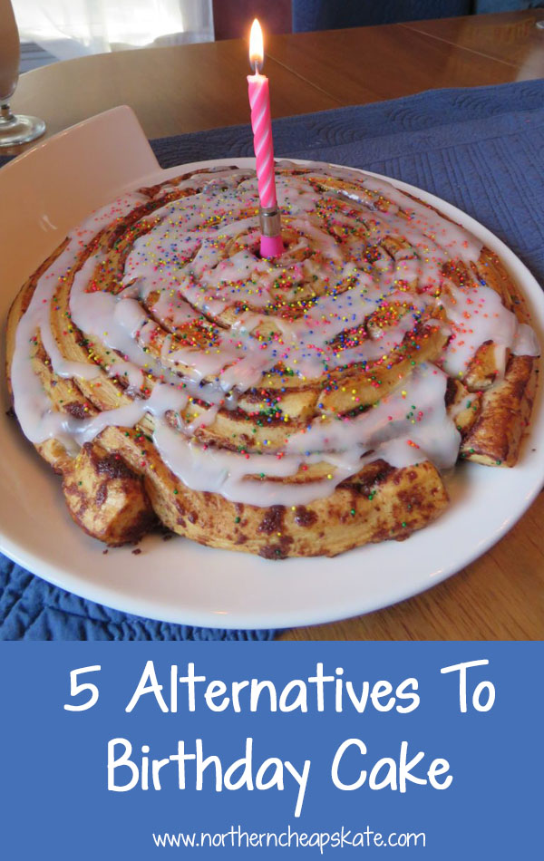 5 Alternatives To Birthday Cake