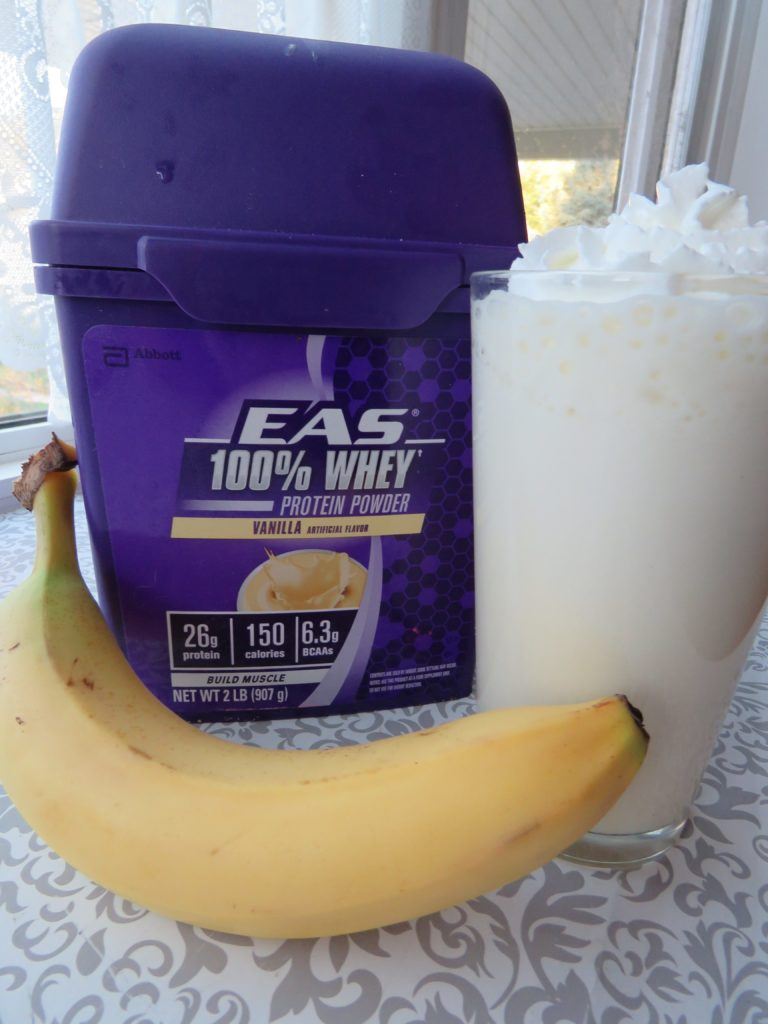 Banana Cream Pie Protein Shake