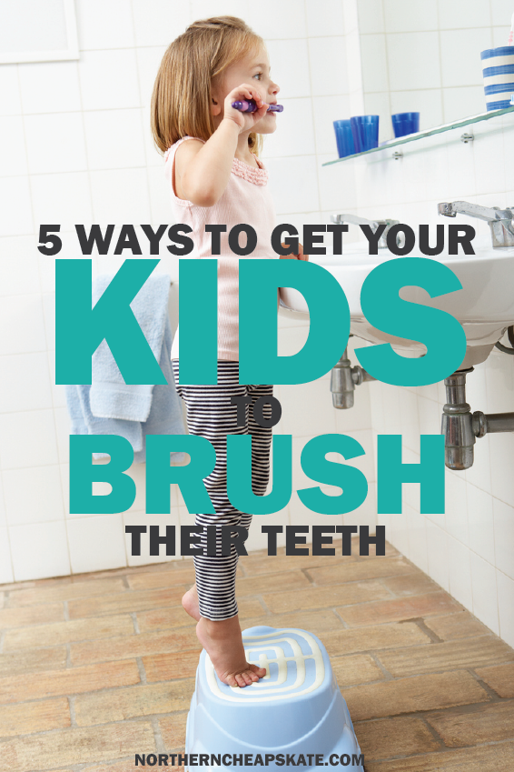 5 Ways to Get Your Kids to Brush Their Teeth | Chores | Child Hygiene