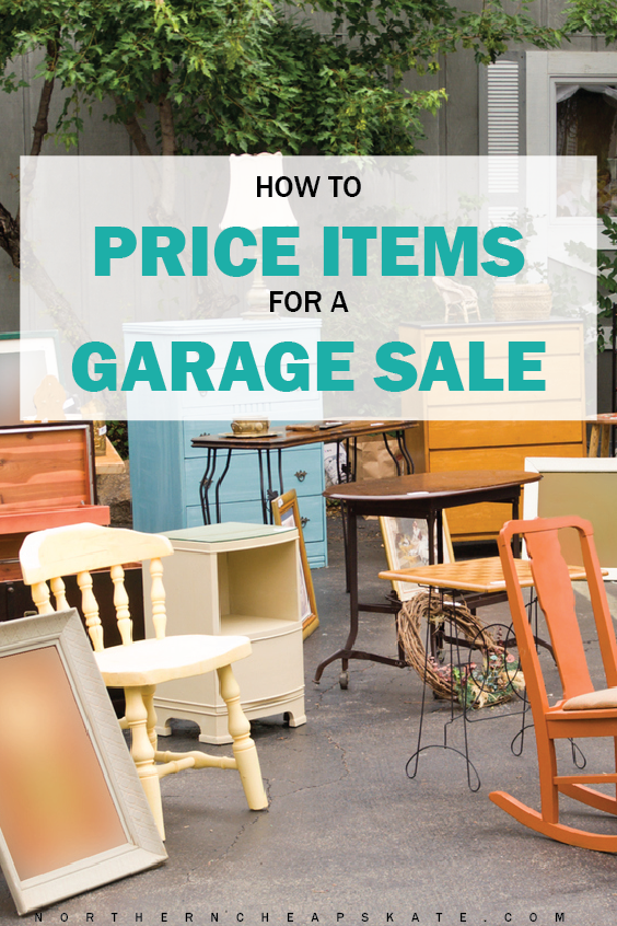 How to Price Items for a Garage Sale | Garage Sale Pricing | Garage Sale Tips | Garage Sale Organization | Garage Sale Ideas | Hacks to Make Extra Money